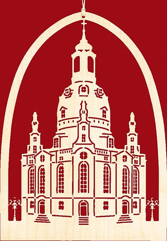 Fensterbild Frauenkirche - gotisch