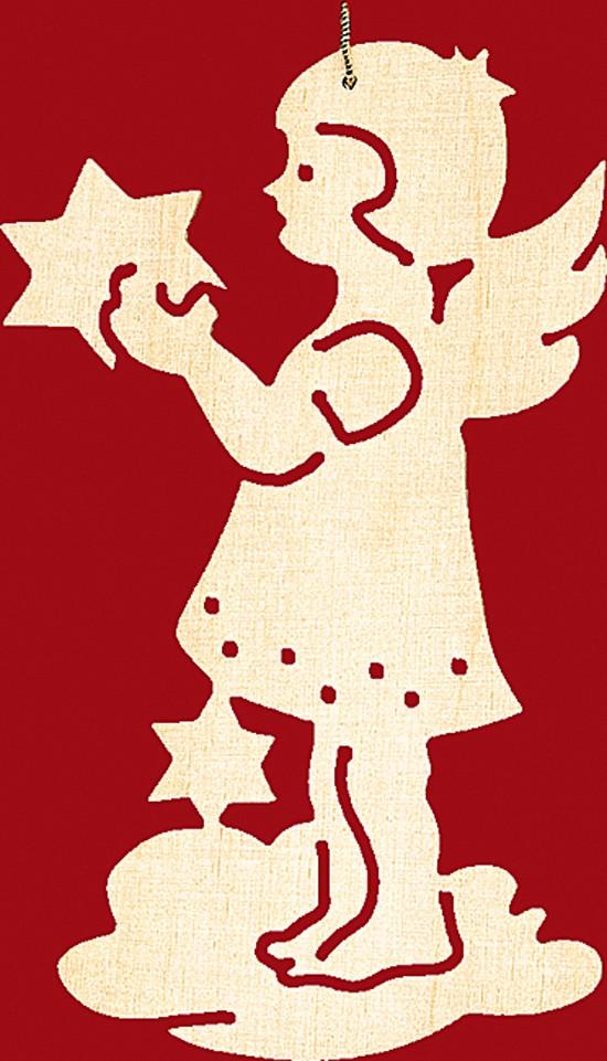 Baumbehang Weihnachten 4 er Set: Engel