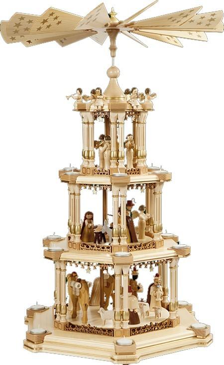 Barocke Spiegelpyramide Geburt Natur