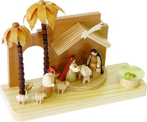 Krippe Christi Geburt orientalisch