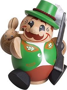 Kugelräucherfigur Jäger