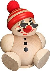 Kugelräucherfigur -Cool Man- mit Mütze
