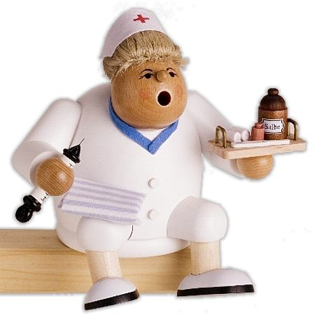 Kantenhocker Krankenschwester
