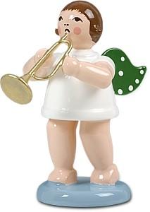 Engel mit Jazztrompete