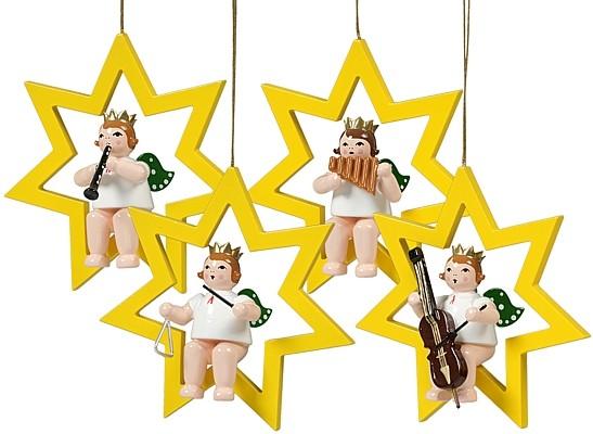 4 Engel im Stern