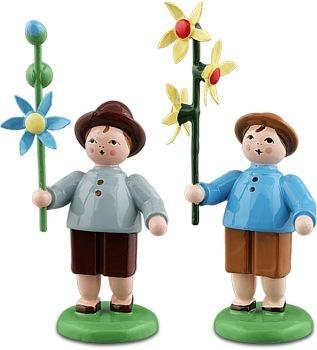 Blumenkinder, Jungen