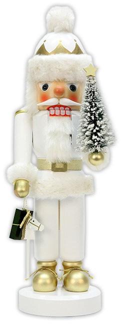 Nu�knacker Weihnachtsmann wei�