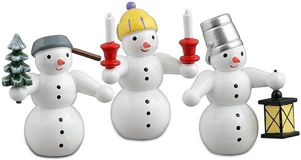 Schneemänner 3-teilig