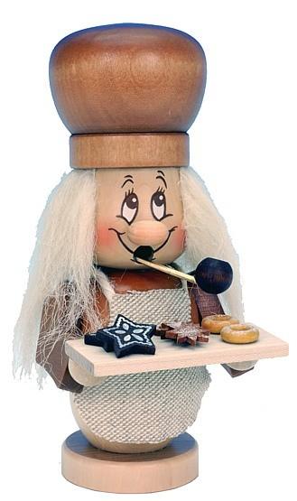 Räuchermännchen Miniwichtel Bäcker