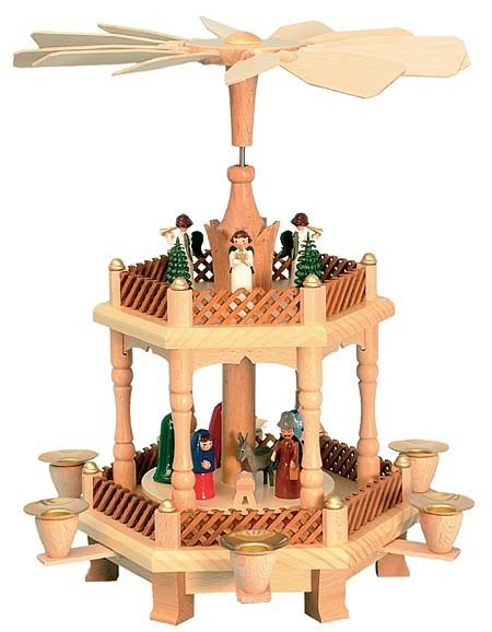 Weihnachtspyramide Geburt