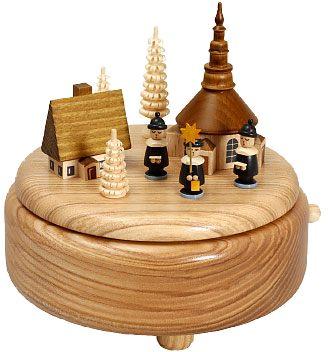 Spieldose Seiffener Dorf mit Kurrende