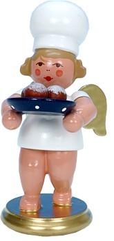 B�ckerengel mit Pfannkuchen