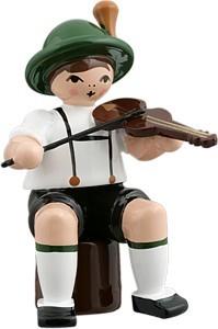 Bayernmusikant mit Bratsche