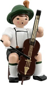 Bayernmusikant mit Cello