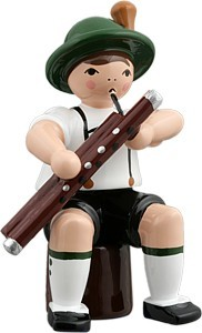 Bayernmusikant mit Fagott