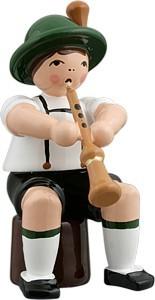 Bayernmusikant mit Schalmei