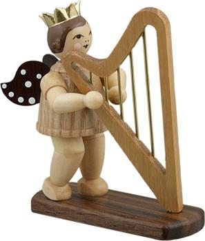 Engel mit Harfe Natur