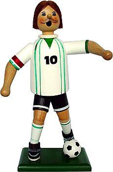 Räuchermann Fußballspieler