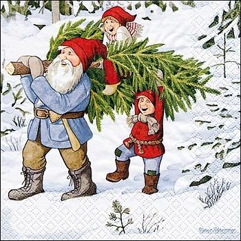 Servietten, Getting a Christmas Tree