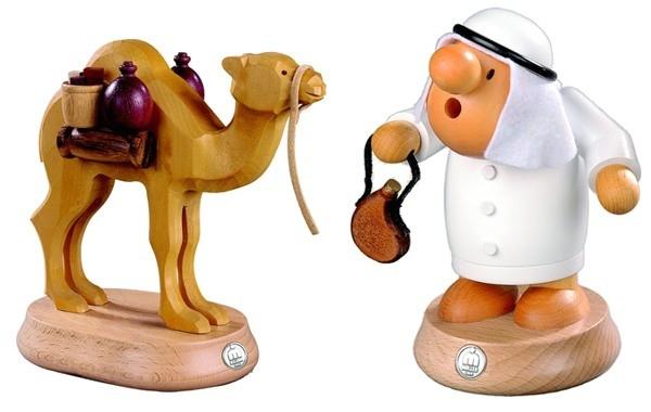 Räuchermann Araber oder Kamel für kleinen Araber,