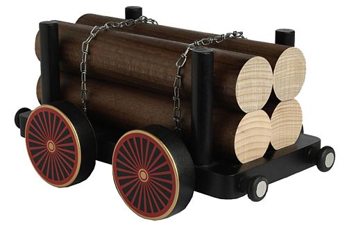 Hänger mit Langholz für Eisenbahn