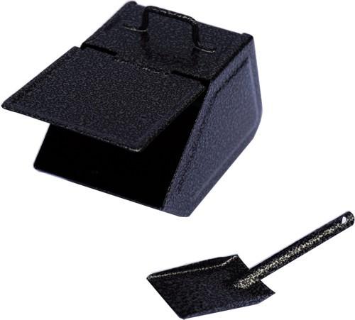Huss Kohlekasten mit Schaufel
