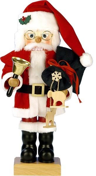 nussknacker frohe weihnachten santa aus dem erzgebirge. Black Bedroom Furniture Sets. Home Design Ideas