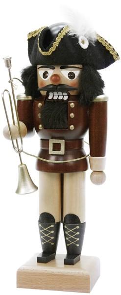 Nussknacker Trompeter naturfarben