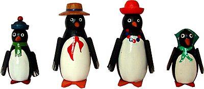 4 Pinguine
