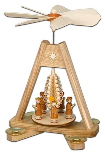 Weihnachtspyramide mit Kurrende