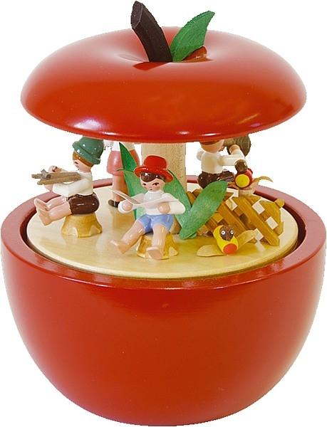 Spieldose Apfel Kinderkonzert