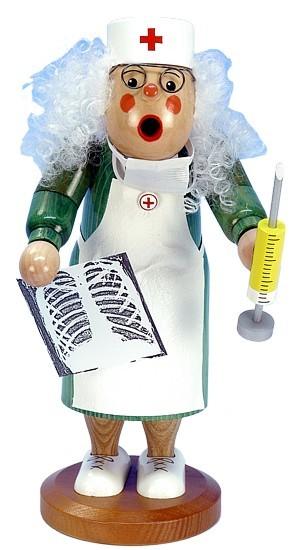 Räucherfigur Ärztin