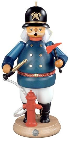 R�ucherm�nnchen historischer Feuerwehrmann