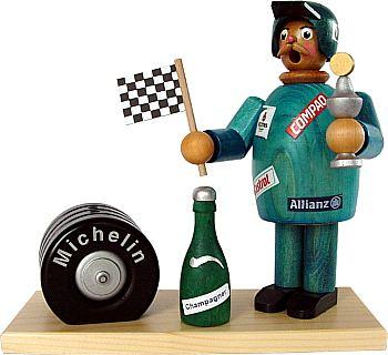 R�uchermann Rennfahrer (blau)