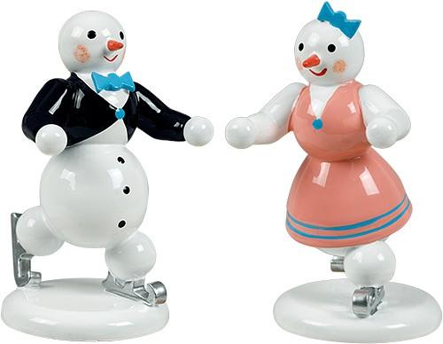 Schneemann Eiskunstlaufpaar