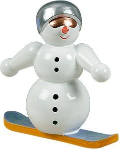 Schneemann Snowboardfahrer