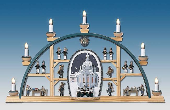 Schwibbogen mit Frauenkirche