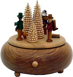 Spieldose Waldfiguren