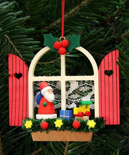 Baumbehang Adventsfenster mit Niko
