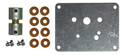Befestigungsset für Pyramidenmotoren -Stahl-