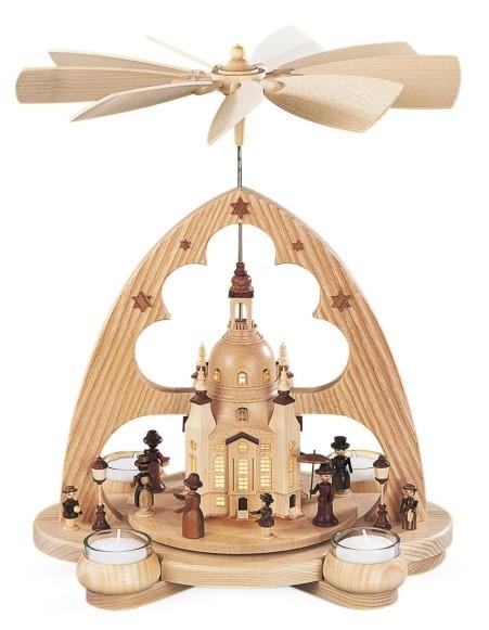 Bogenpyramide Frauenkirche