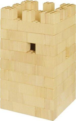 Bausatz f�r Burgturm Rabenstein<br> - der Holzbaustein mit dem Klick -