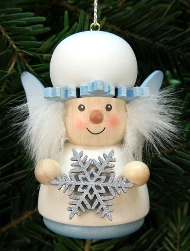 Baumbehang Weihnachtsmann Schneefl�ckchen