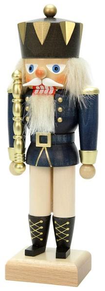 Nußknacker König blau