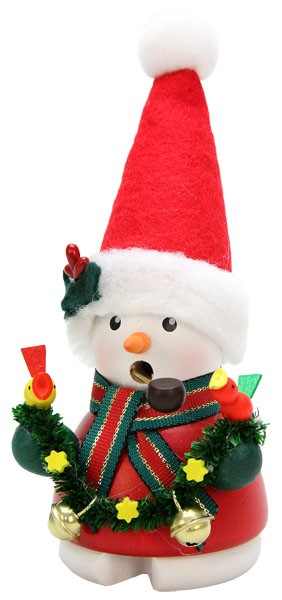 R�ucherm�nnchen Schneemann Weihnachtsmann