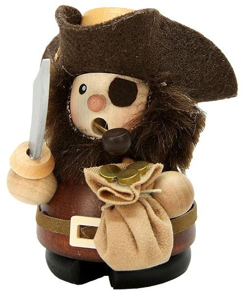 Räuchermännchen Pirat natur