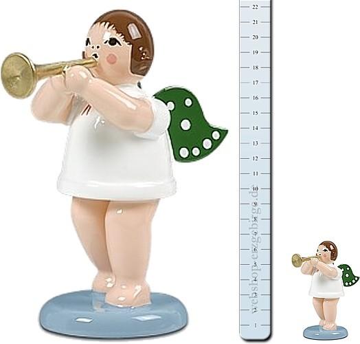 gro�er Engel mit Trompete - 22 cm -