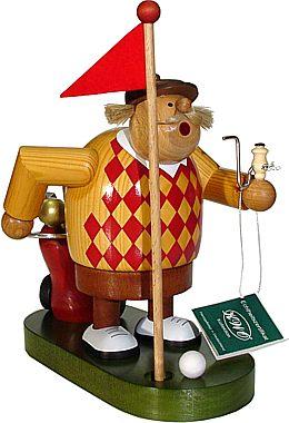Räuchermännchen Golfspieler