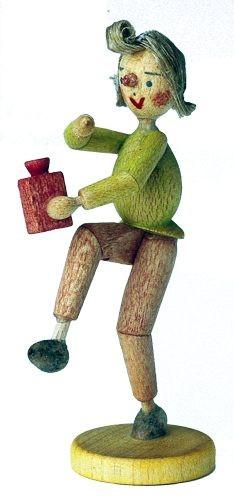 Holzfigur Moritz