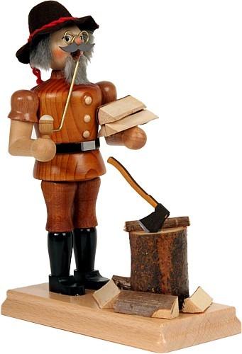 Räuchermann Holzmichel mit Hut